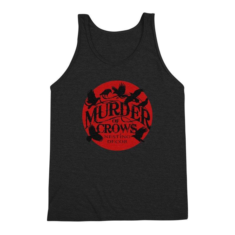 Murder Of Crows Nesting Decor full logo Men's Tank by Murder of Crows Nesting Decor Artist Shop