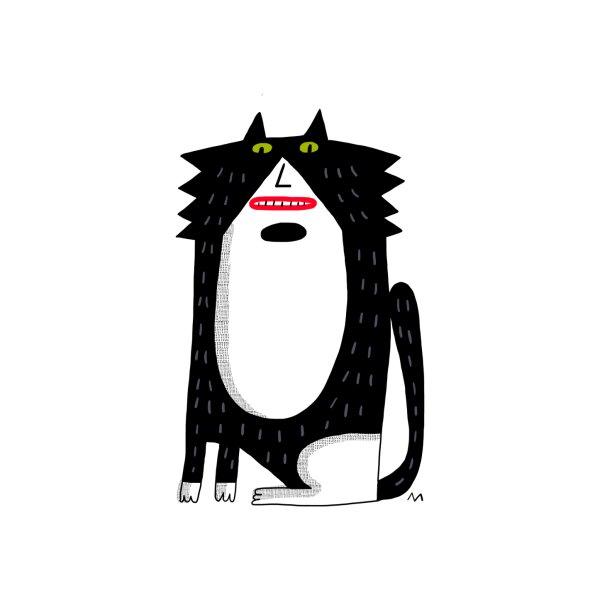 image for Big tuxedo cat