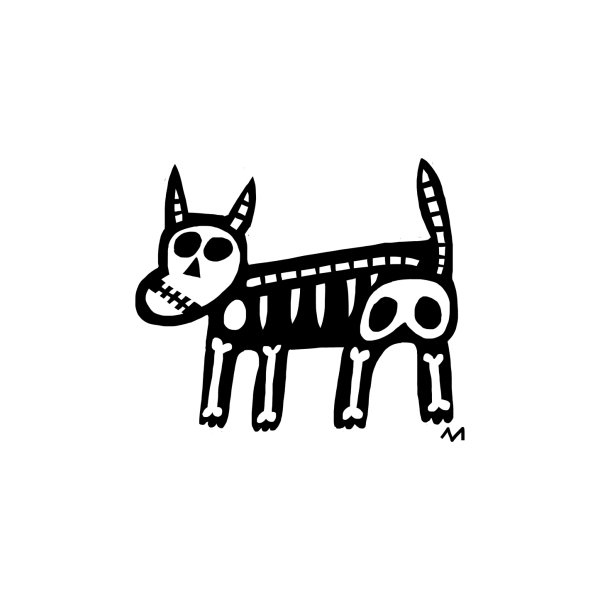 Design for dog skeleton