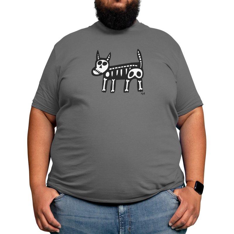 dog skeleton Men's T-Shirt by Murton Artist Shop