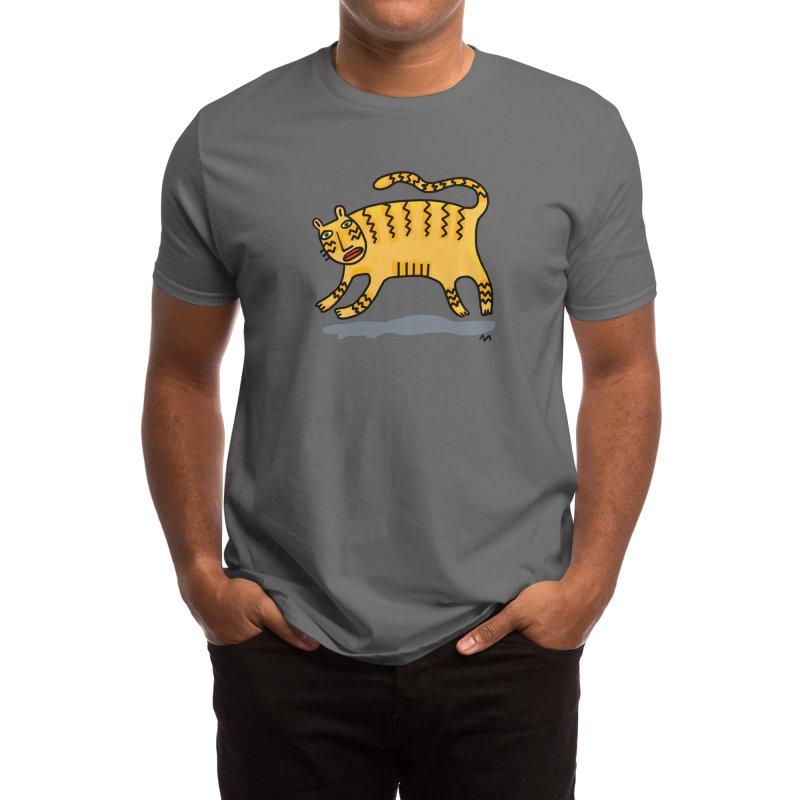 tiger tiger Men's T-Shirt by Murton Artist Shop