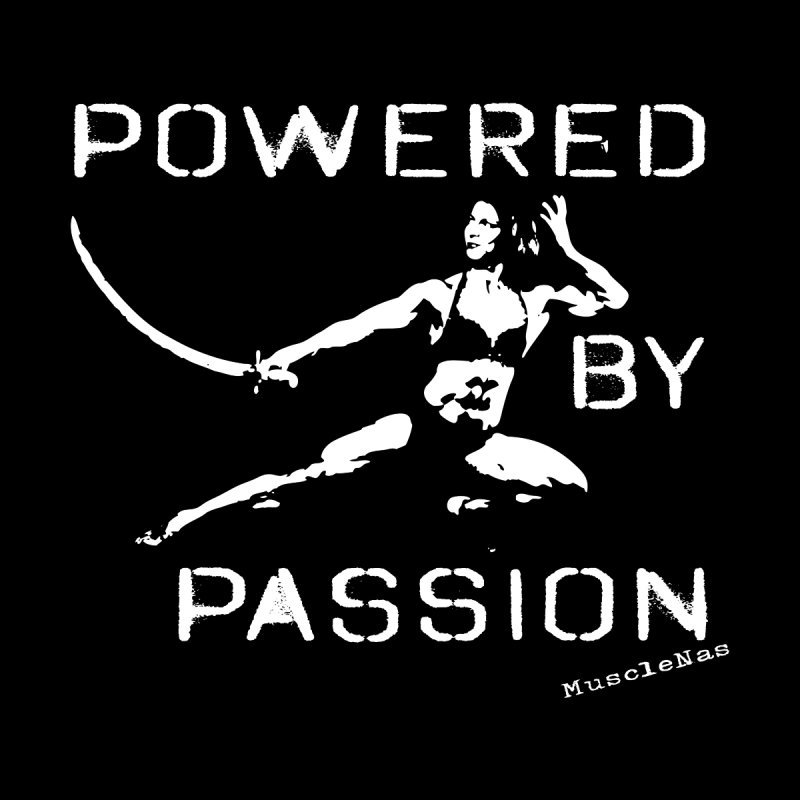 Powered by Passion by MuscleNas Shop