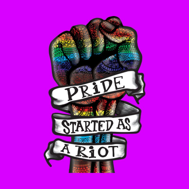 Pride Started as a Riot Men's T-Shirt by Mo Kessler