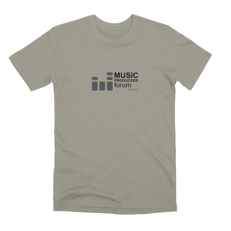 Music Producers Forum - Since 2007 Men's Premium T-Shirt by MusicProducersForum's Artist Shop