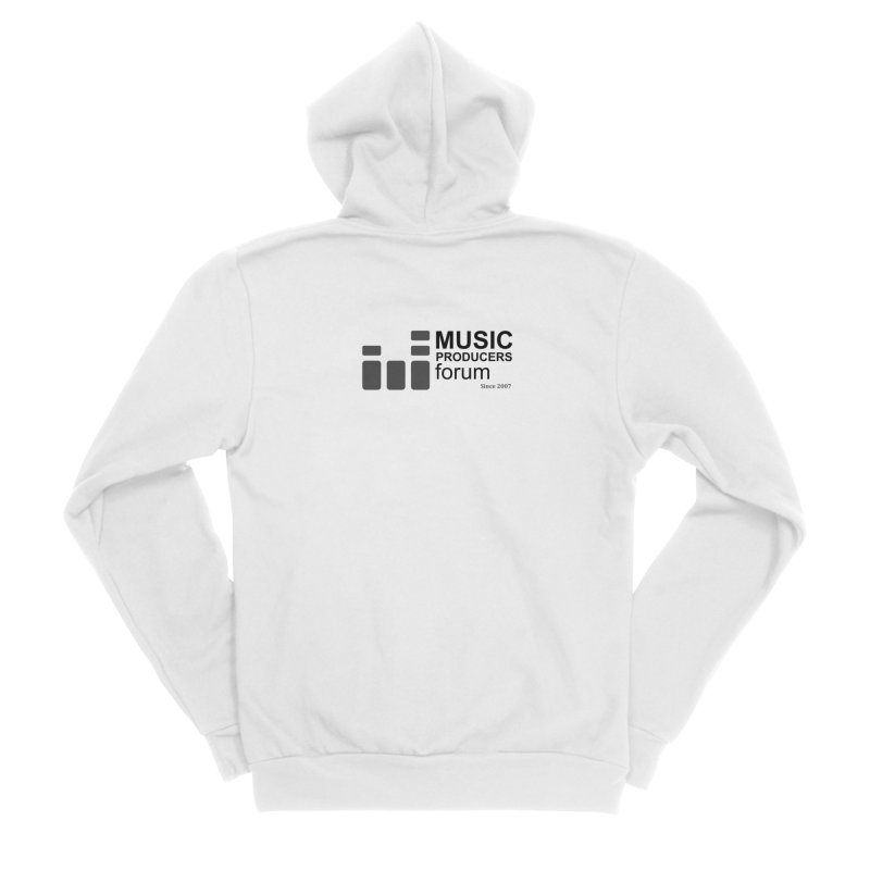 Music Producers Forum - Since 2007 Men's Sponge Fleece Zip-Up Hoody by MusicProducersForum's Artist Shop
