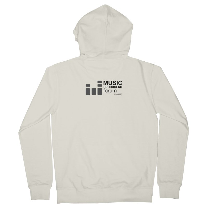 Music Producers Forum - Since 2007 Women's French Terry Zip-Up Hoody by MusicProducersForum's Artist Shop