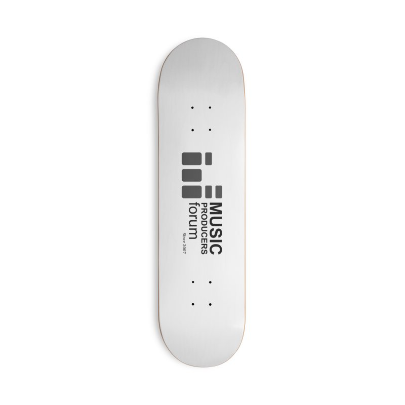 Music Producers Forum - Since 2007 Accessories Deck Only Skateboard by MusicProducersForum's Artist Shop