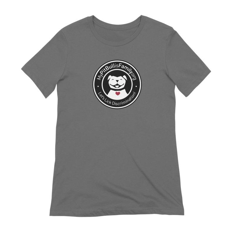 MPBIF Dog Logo Women's T-Shirt by My Pit Bull is Family Shop