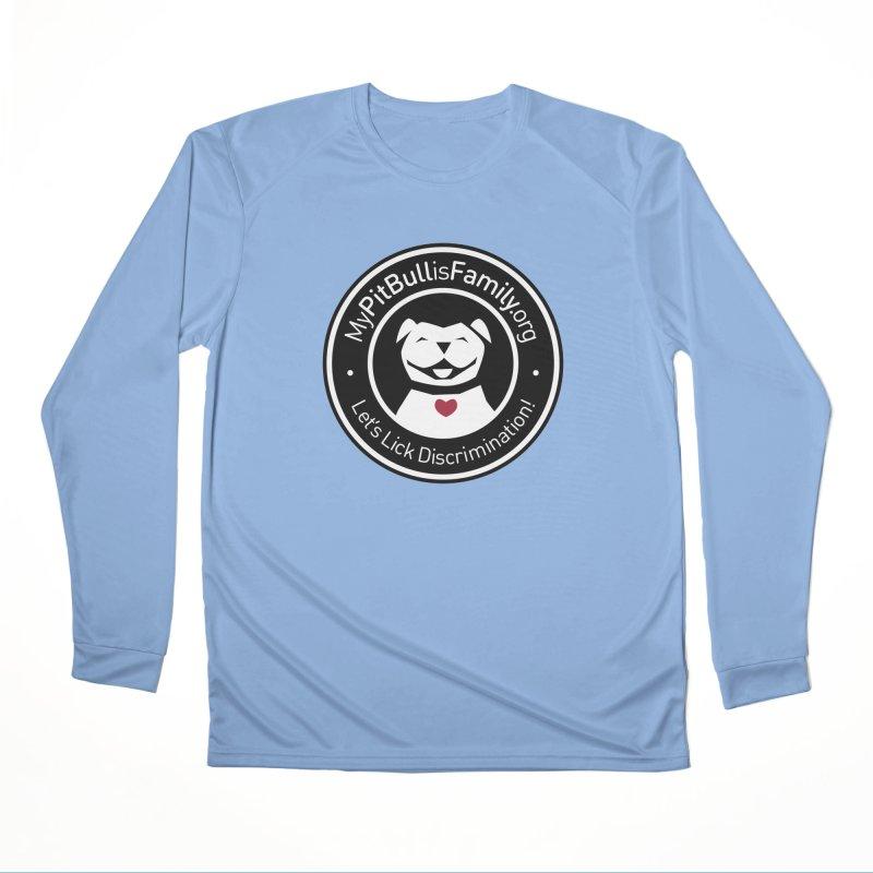 MPBIF Dog Logo Men's Longsleeve T-Shirt by My Pit Bull is Family Shop