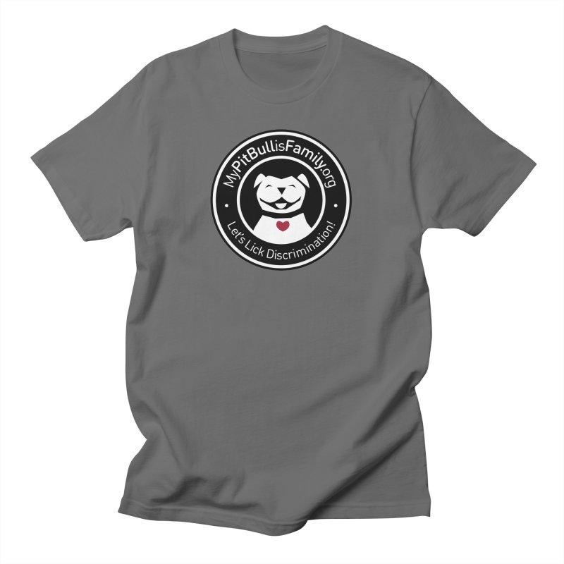 MPBIF Dog Logo Men's T-Shirt by My Pit Bull is Family Shop