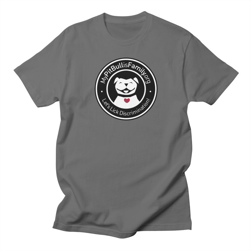 MPBIF Dog Logo Men's T-Shirt by My Pit Bull is Family Shop