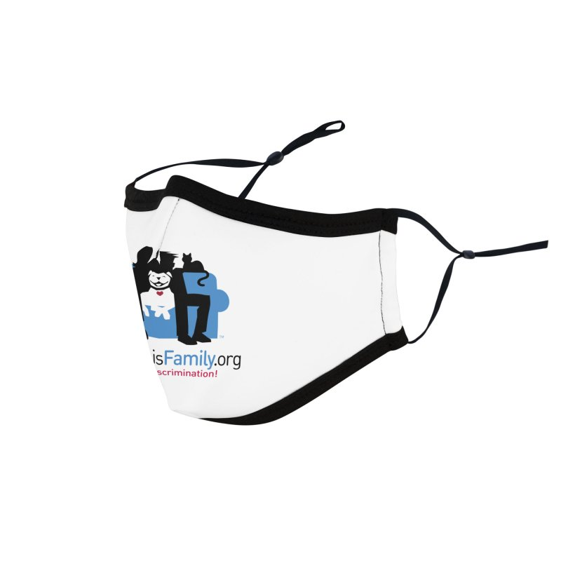MPBIF Couch Logo Accessories Face Mask by My Pit Bull is Family Shop