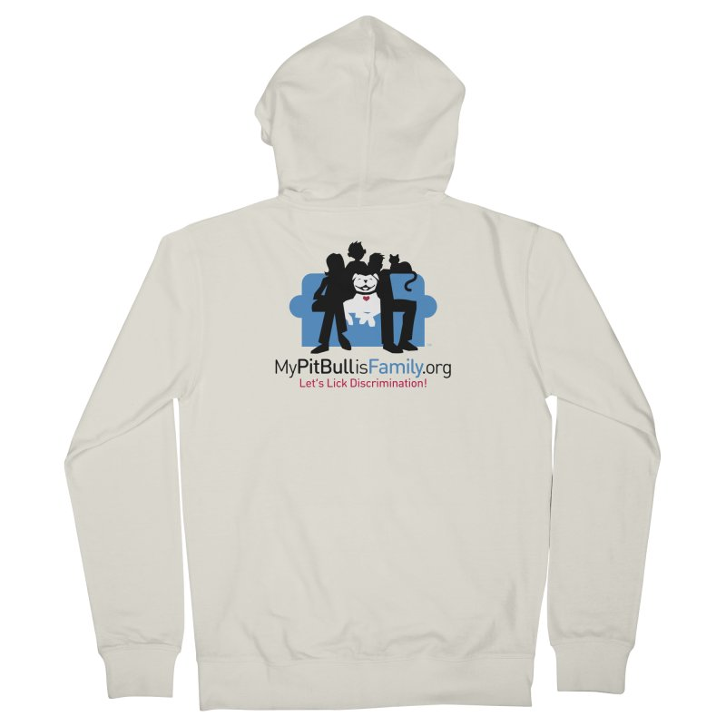 MPBIF Couch Logo Women's Zip-Up Hoody by My Pit Bull is Family Shop