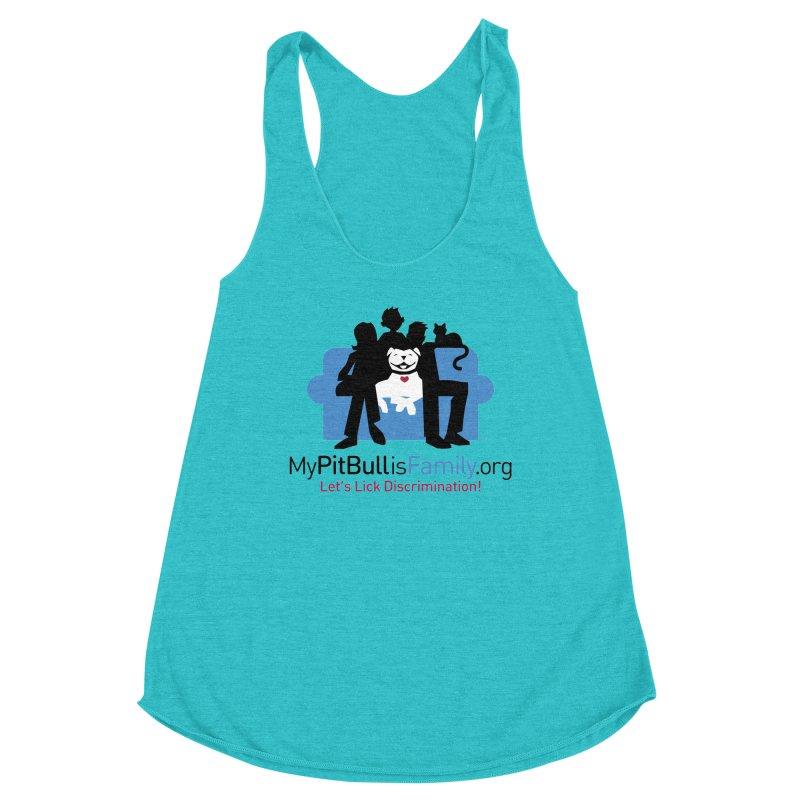 MPBIF Couch Logo Women's Tank by My Pit Bull is Family Shop