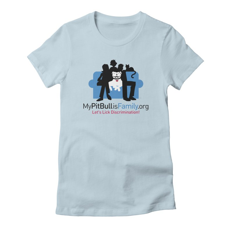 MPBIF Couch Logo Women's T-Shirt by My Pit Bull is Family Shop