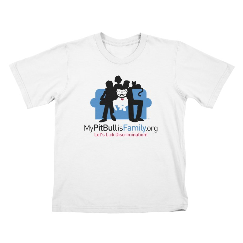 MPBIF Couch Logo Kids T-Shirt by My Pit Bull is Family Shop