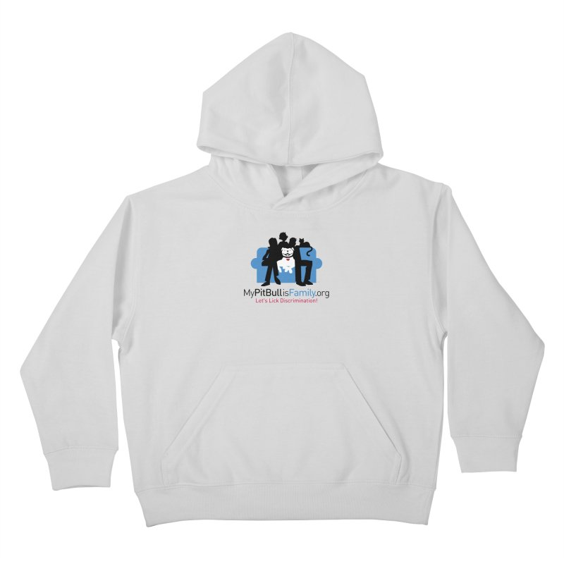 MPBIF Couch Logo Kids Pullover Hoody by My Pit Bull is Family Shop