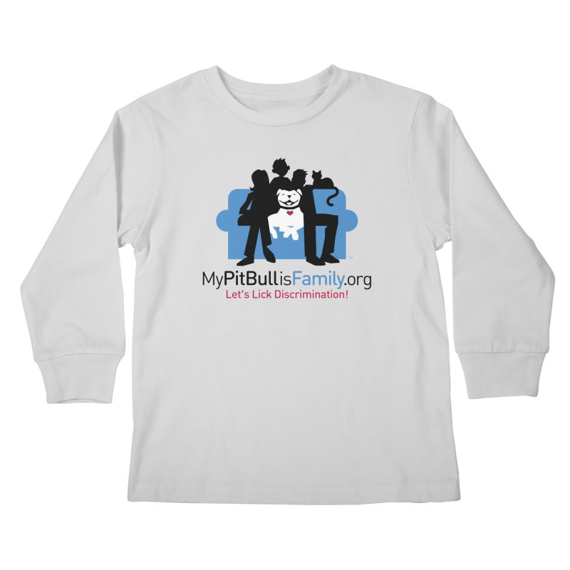 MPBIF Couch Logo Kids Longsleeve T-Shirt by My Pit Bull is Family Shop