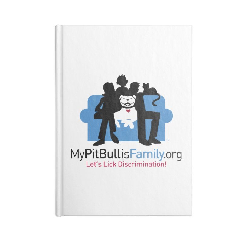 MPBIF Couch Logo Accessories Notebook by My Pit Bull is Family Shop