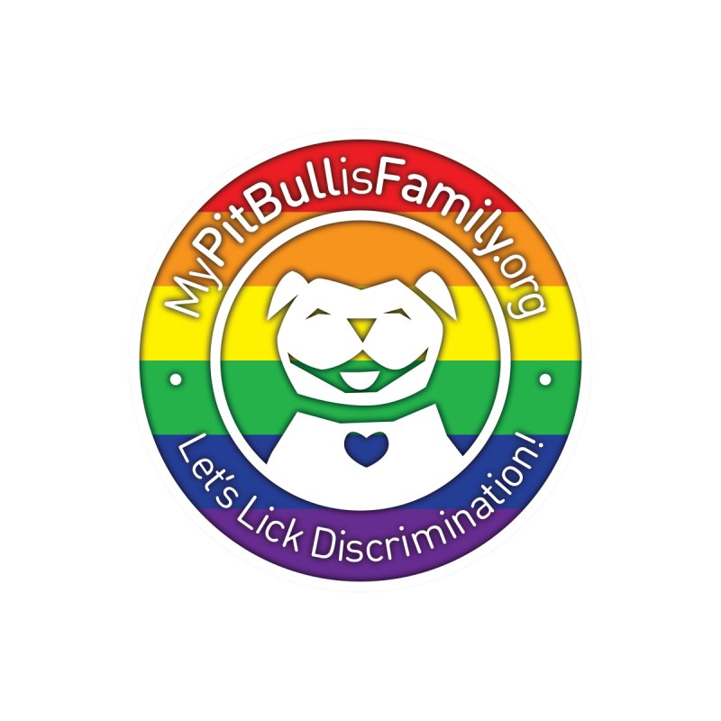 MPBIF Pride Logo Men's Tank by My Pit Bull is Family Shop
