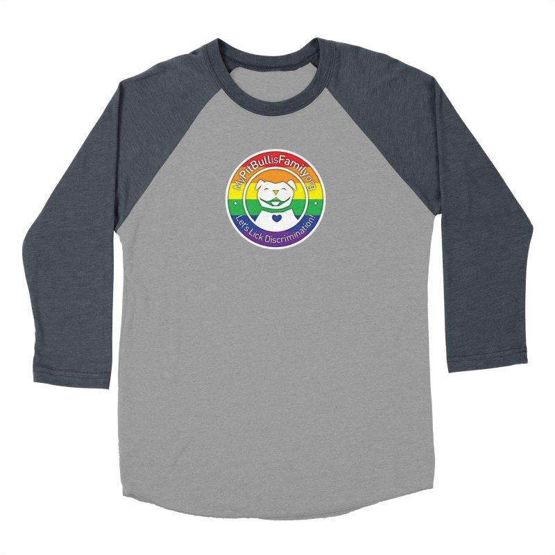 MPBIF Pride Logo Women's Longsleeve T-Shirt by My Pit Bull is Family Shop