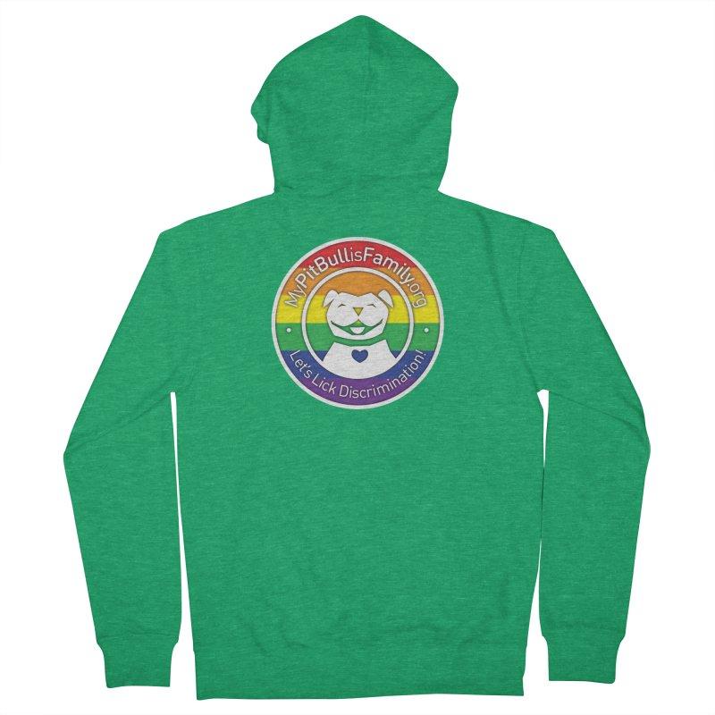 MPBIF Pride Logo Women's Zip-Up Hoody by My Pit Bull is Family Shop