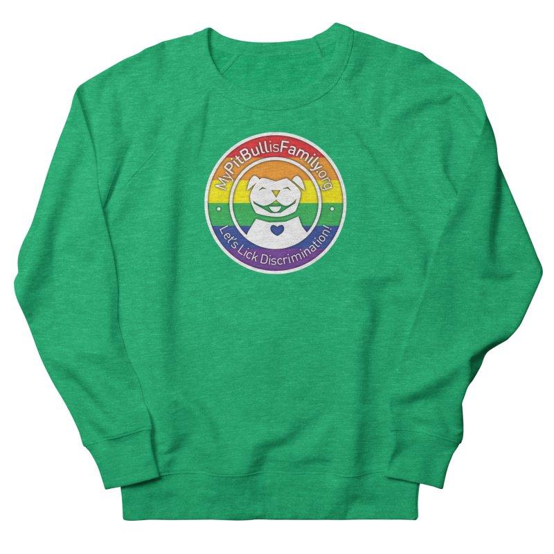 MPBIF Pride Logo Women's Sweatshirt by My Pit Bull is Family Shop