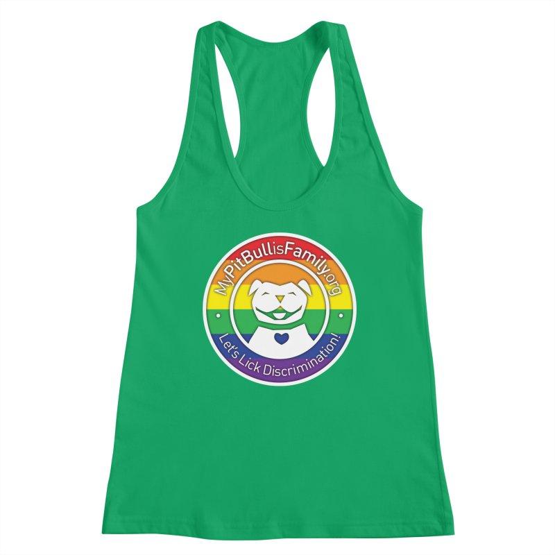 MPBIF Pride Logo Women's Tank by My Pit Bull is Family Shop