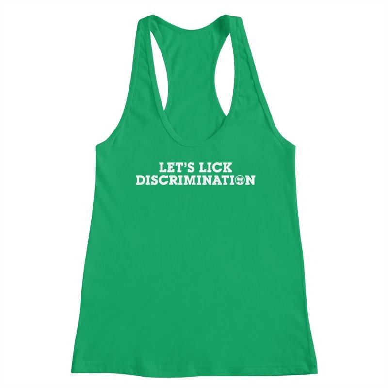 MPBIF Let's Lick Discrimination Women's Tank by My Pit Bull is Family Shop