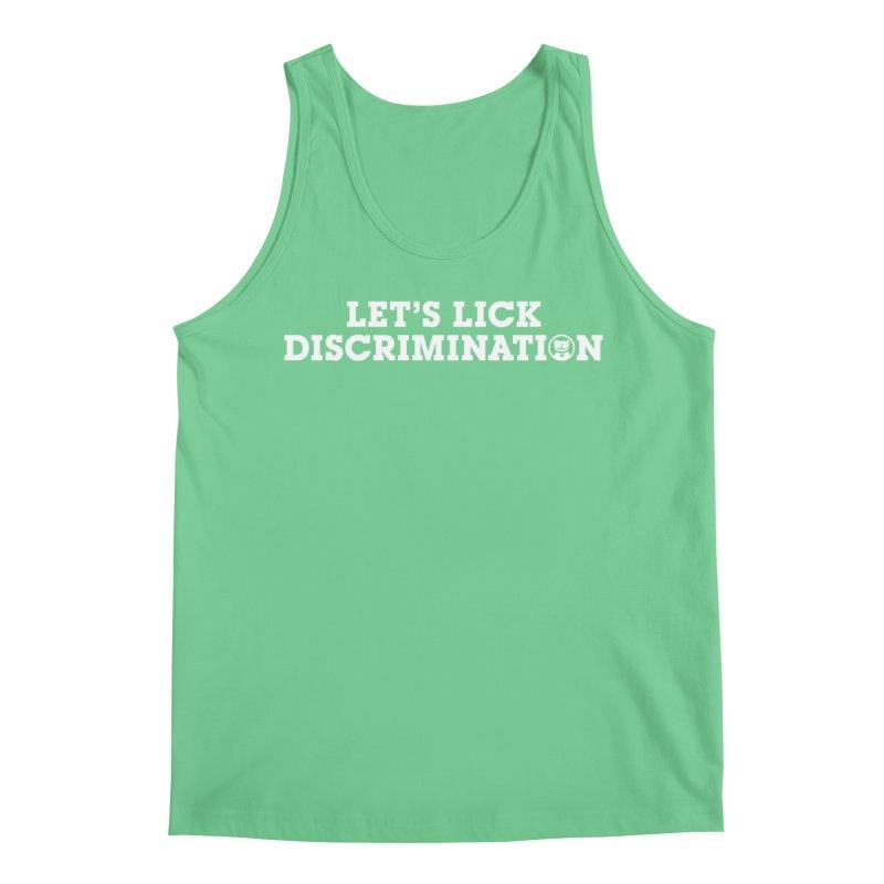 MPBIF Let's Lick Discrimination Men's Tank by My Pit Bull is Family Shop