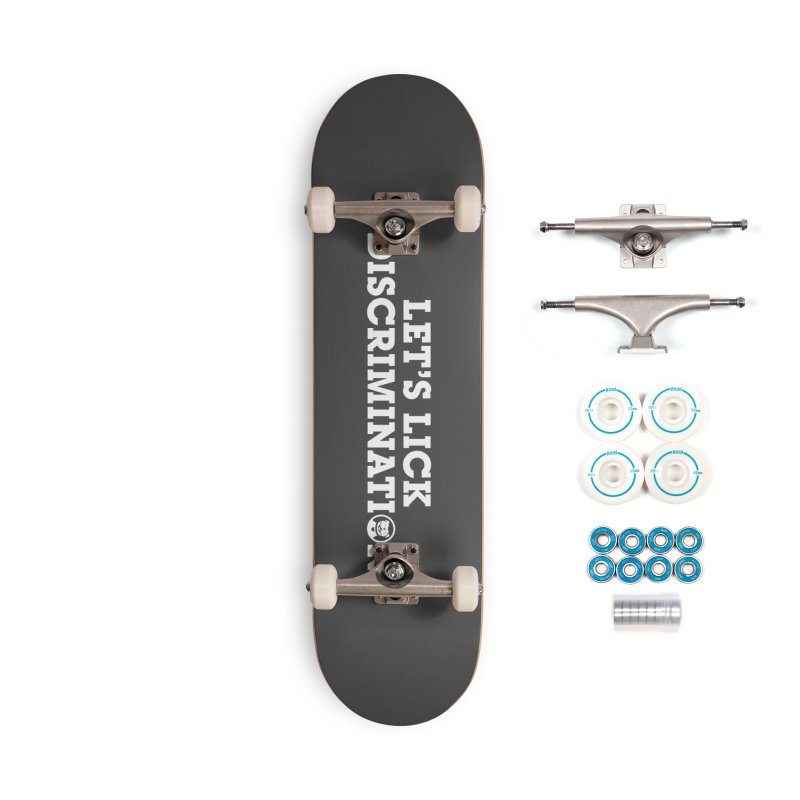 MPBIF Let's Lick Discrimination Accessories Skateboard by My Pit Bull is Family Shop