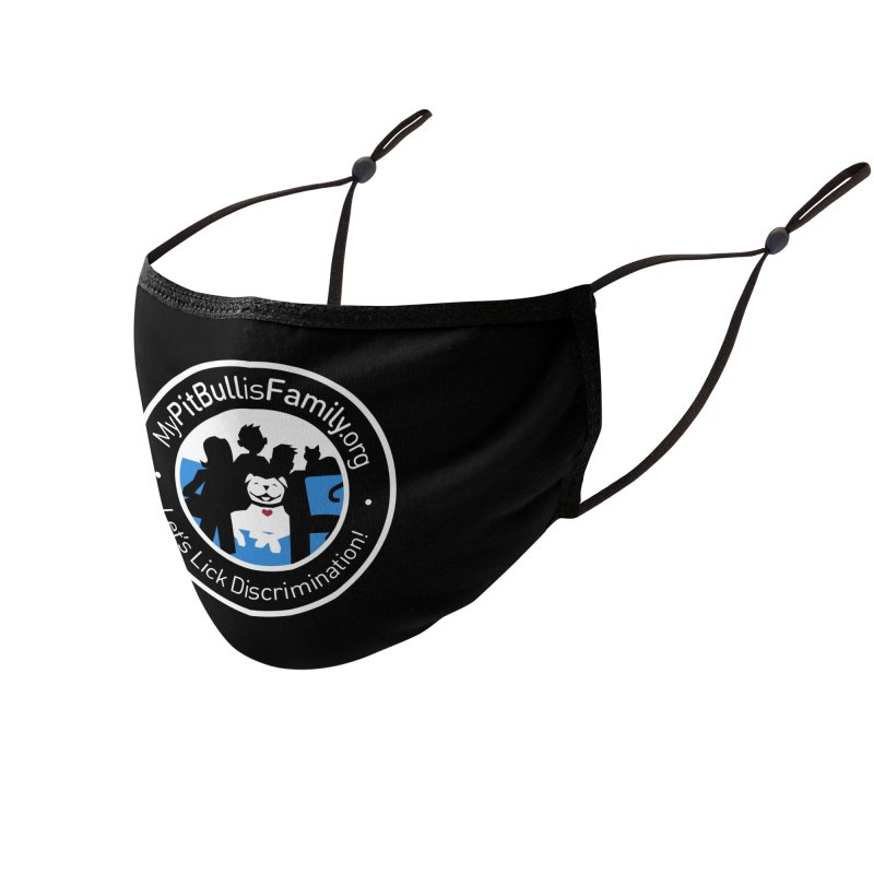 MPBIF Family Logo Accessories Face Mask by My Pit Bull is Family Shop
