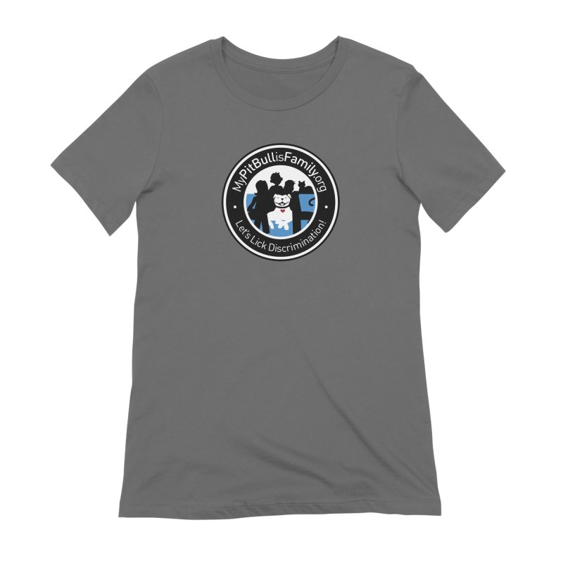 MPBIF Family Logo Women's T-Shirt by My Pit Bull is Family Shop