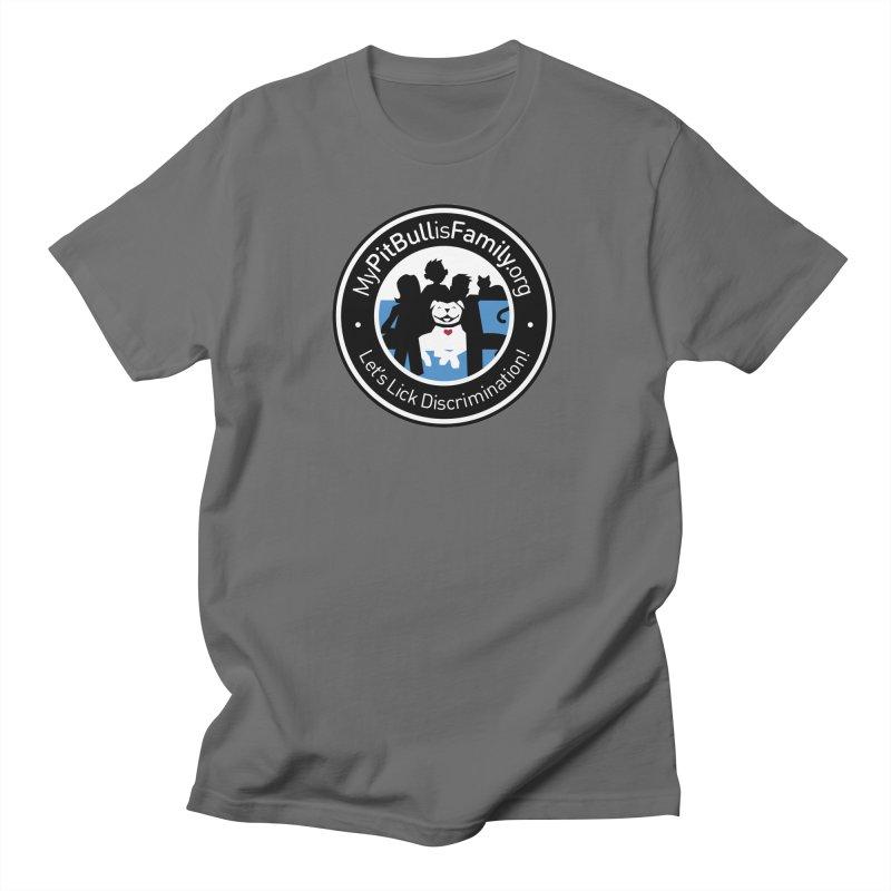 MPBIF Family Logo Men's T-Shirt by My Pit Bull is Family Shop