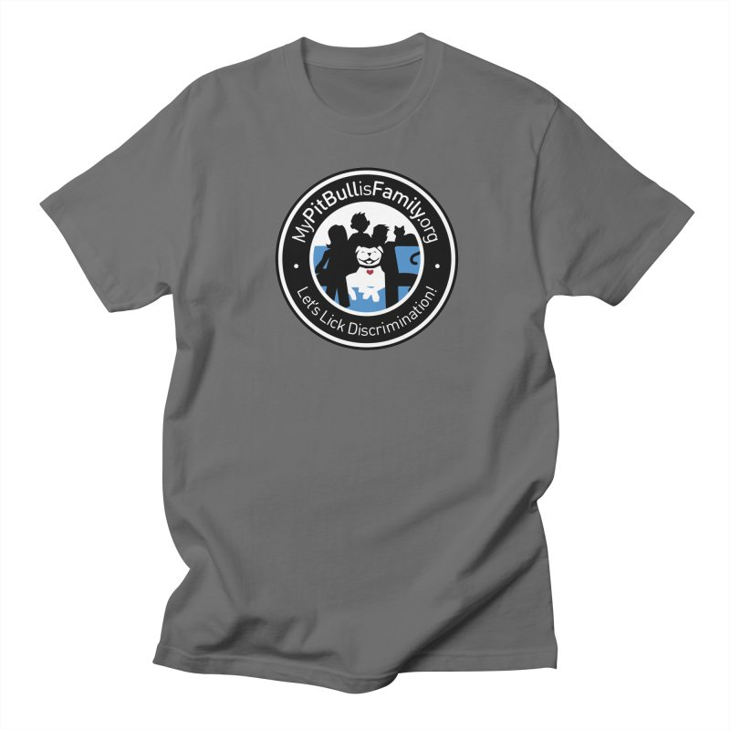 MPBIF Family Logo Men's T-Shirt by My Pit Bull is Family Shop