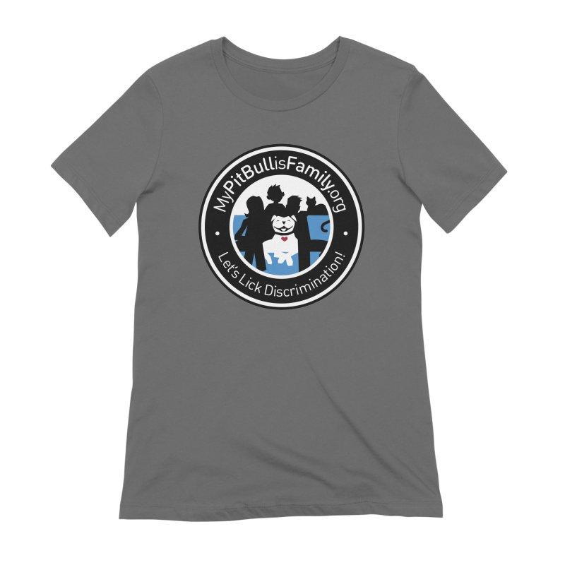MPBIF Family Logo Women's T-Shirt by My Pit Bull is Family Shop