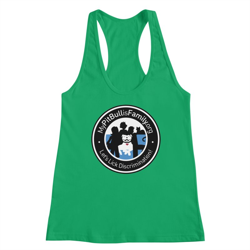 MPBIF Family Logo Women's Tank by My Pit Bull is Family Shop