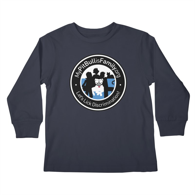 MPBIF Family Logo Kids Longsleeve T-Shirt by My Pit Bull is Family Shop