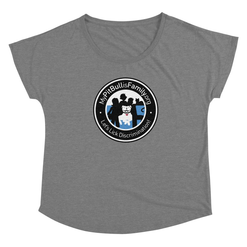 MPBIF Family Logo Women's Scoop Neck by My Pit Bull is Family Shop