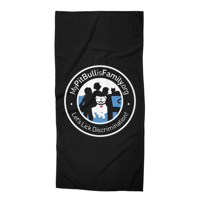 MPBIF Family Logo Accessories Beach Towel by My Pit Bull is Family Shop