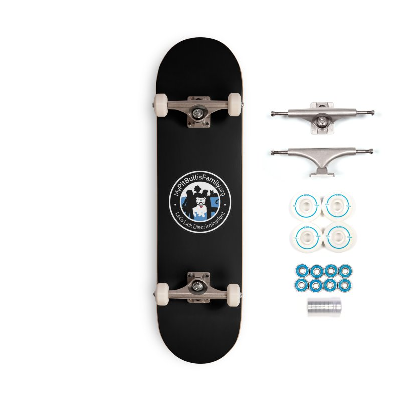 MPBIF Family Logo Accessories Skateboard by My Pit Bull is Family Shop