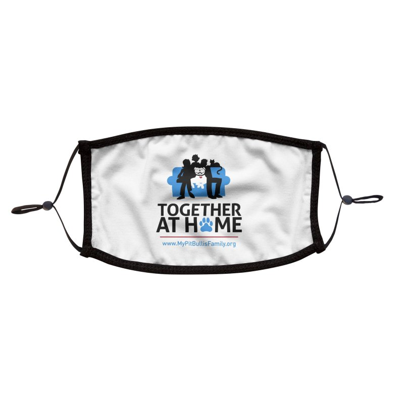 MPBIF Together at Home Accessories Face Mask by My Pit Bull is Family Shop