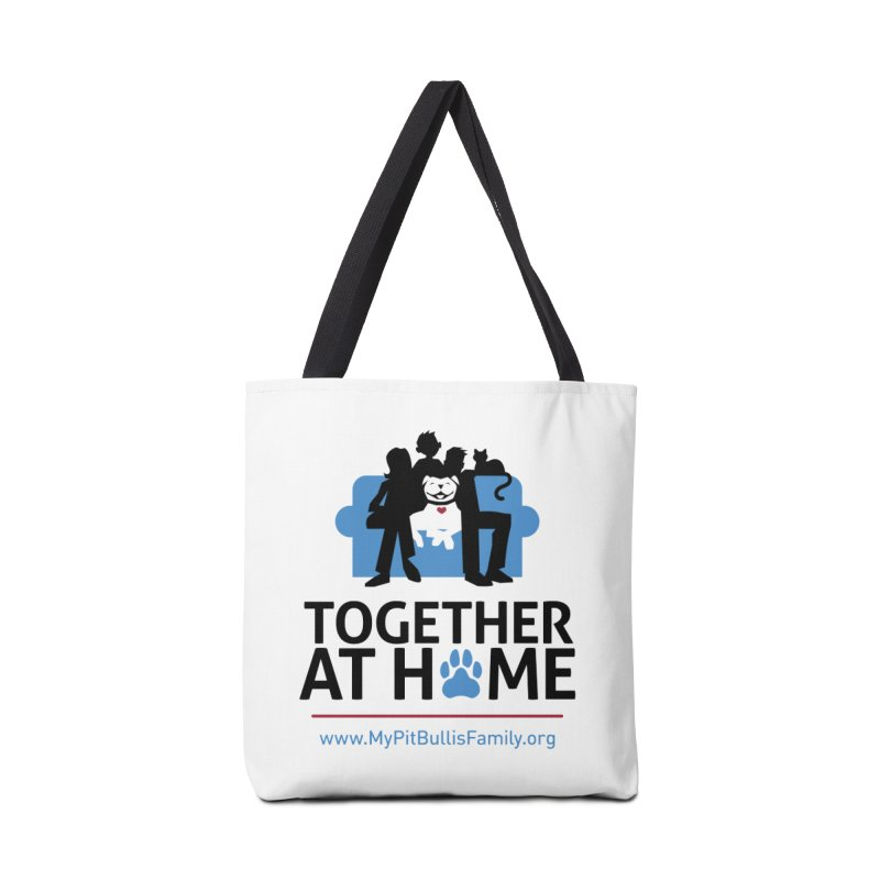 MPBIF Together at Home Accessories Bag by My Pit Bull is Family Shop