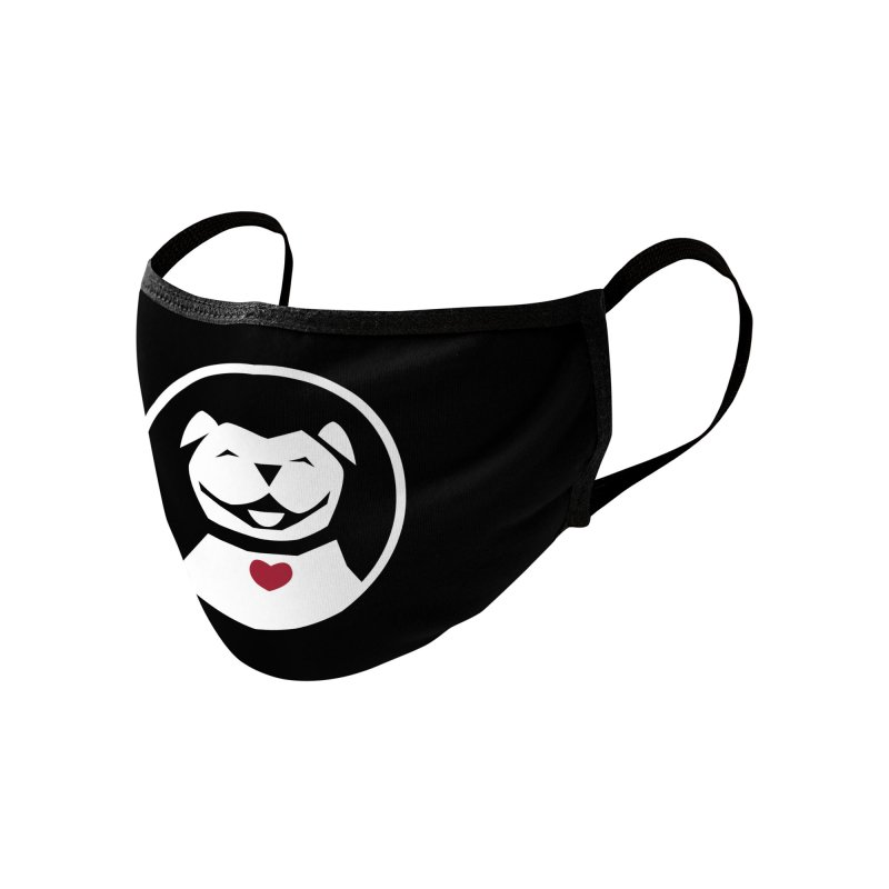 MPBIF Dog in Circle Accessories Face Mask by My Pit Bull is Family Shop