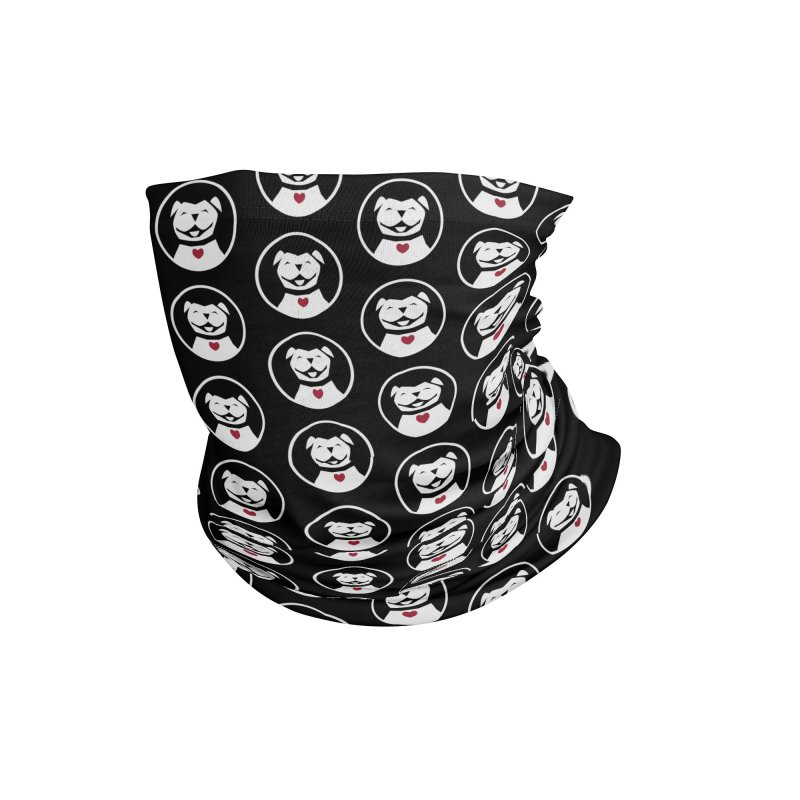 MPBIF Dog in Circle Accessories Neck Gaiter by My Pit Bull is Family Shop
