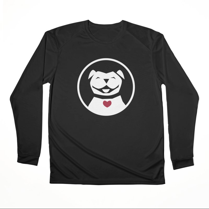 MPBIF Dog in Circle Men's Longsleeve T-Shirt by My Pit Bull is Family Shop