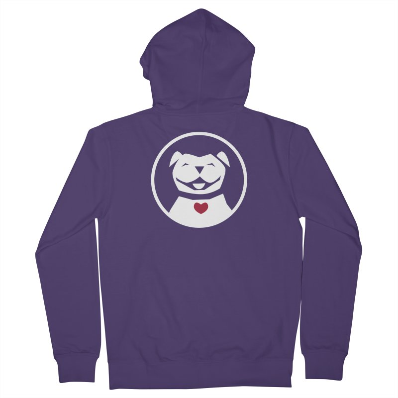 MPBIF Dog in Circle Women's Zip-Up Hoody by My Pit Bull is Family Shop