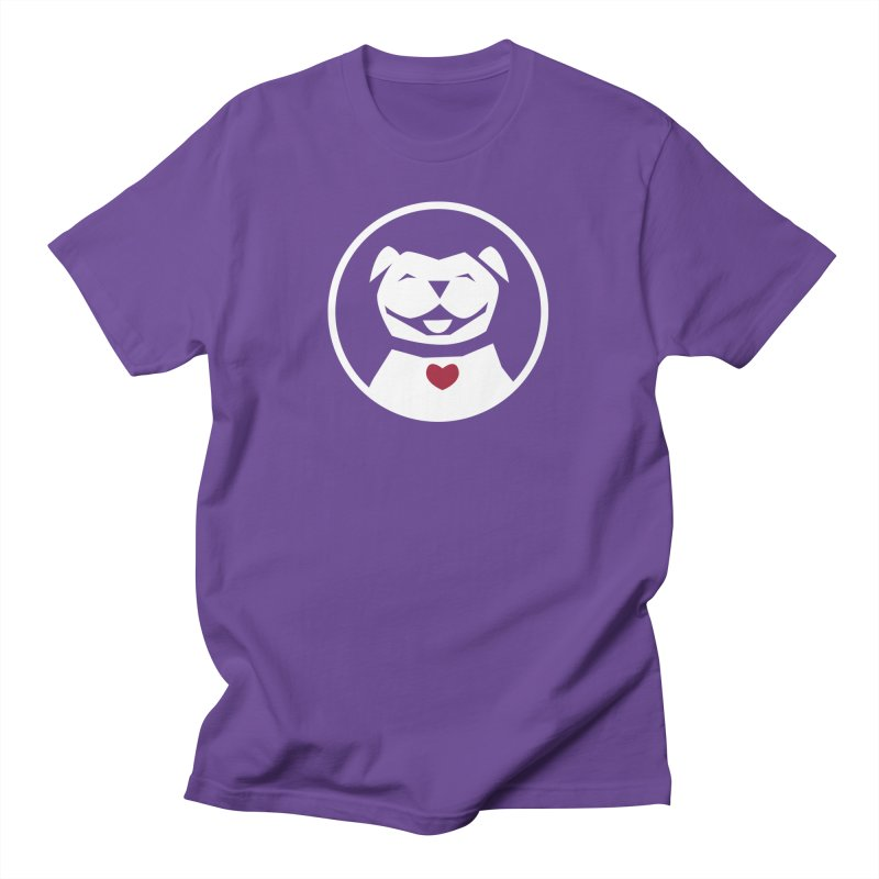 MPBIF Dog in Circle Men's T-Shirt by My Pit Bull is Family Shop