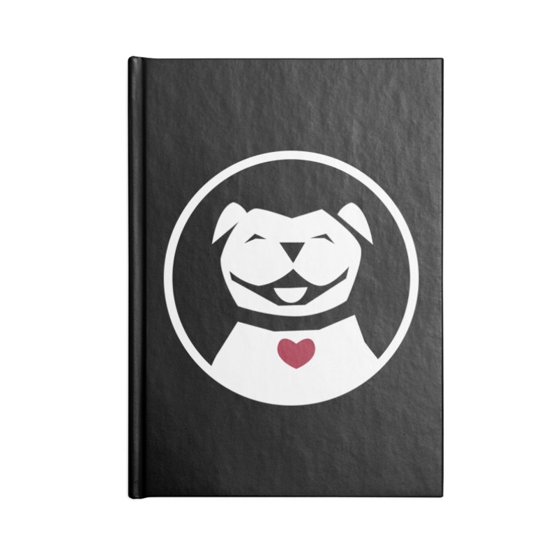 MPBIF Dog in Circle Accessories Notebook by My Pit Bull is Family Shop