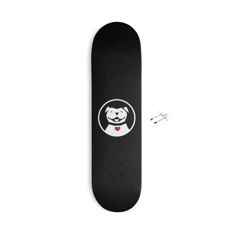 MPBIF Dog in Circle Accessories Skateboard by My Pit Bull is Family Shop